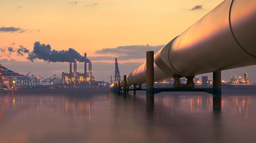 pipeline-refinery